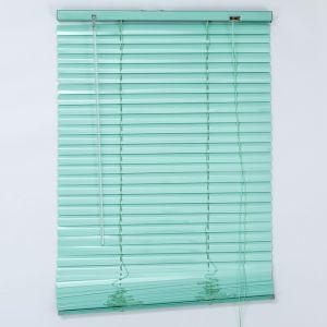 Жалюзи горизонтальные 60х160 см, цвет европейский зелёный   4595733
