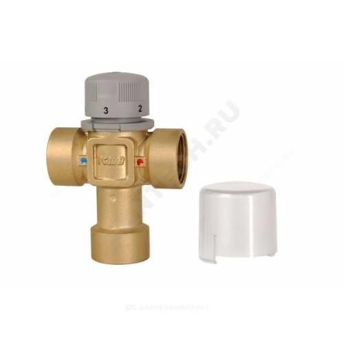 Клапан смесительный т/стат латунь Ру10 м/м 60С Icma