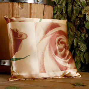 Подушка сувенирная, 22?22 см, мята, лаванда, шалфей, зверобой, роза чайная   4779513
