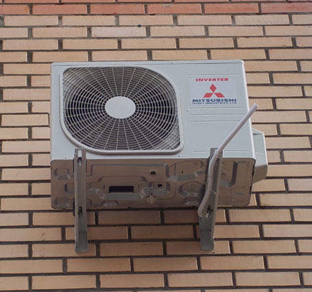 Монтаж внешнего блока кондиционера 5-7 кВт
