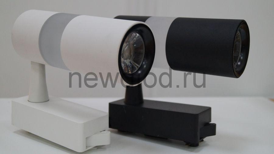 Светильник светодиодный трековый Oreol SOFFIT DA001 10W+5W 4000K 36° Черный