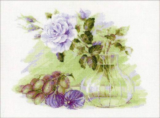 Набор для вышивания крестом Сладкий инжир № 1712 фирма Риолис