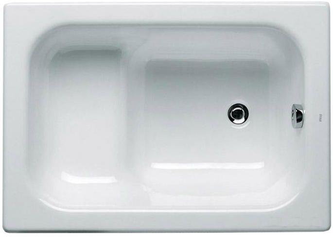Чугунная ванна сидячая Roca Banaseo 100x70 без ручек ФОТО