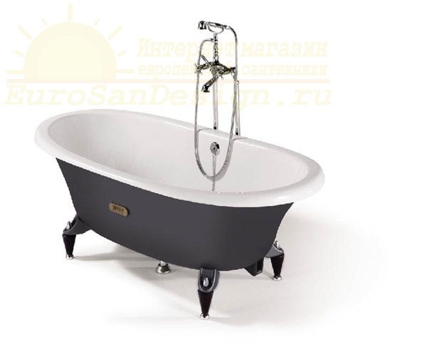 Чугунная ванна Roca Newcast Grey 233650000 ФОТО