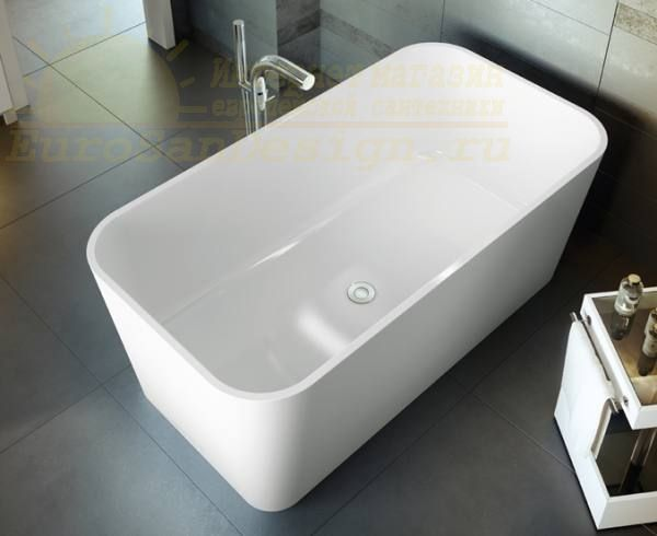 Отдельностоящая ванна Victoria & Albert Edge 150х80x60 см ФОТО