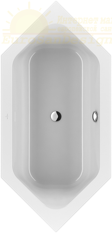 Акриловая ванна Villeroy&Boch Loop&Friends 190x90 UBA199LFS6V-01 ФОТО