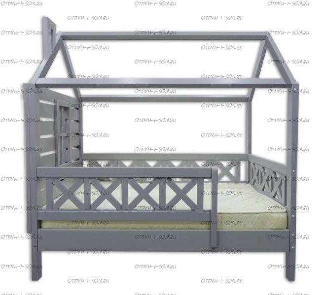 Кровать-Домик Simple Прованс №34