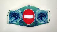 Защитная маска для лица  Кирпич