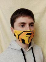 Многоразовая маска для лица Scorpion
