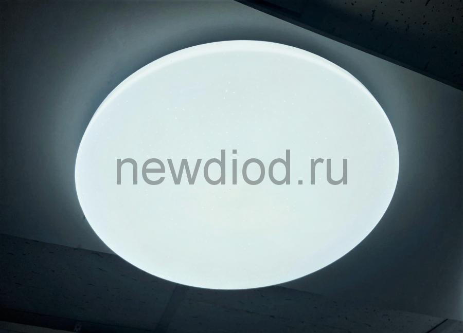 Управляемый светодиодный светильник ORBITAL 630 40Вт-10м² 400мм 6/3/4000K пульт Oreol