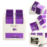 Настольный Кондиционер-Вентилятор HY-168, Цвет Фиолетовый_5