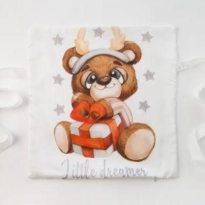 Наволочка Крошка Я «Мишка» 35х35 см -1 шт