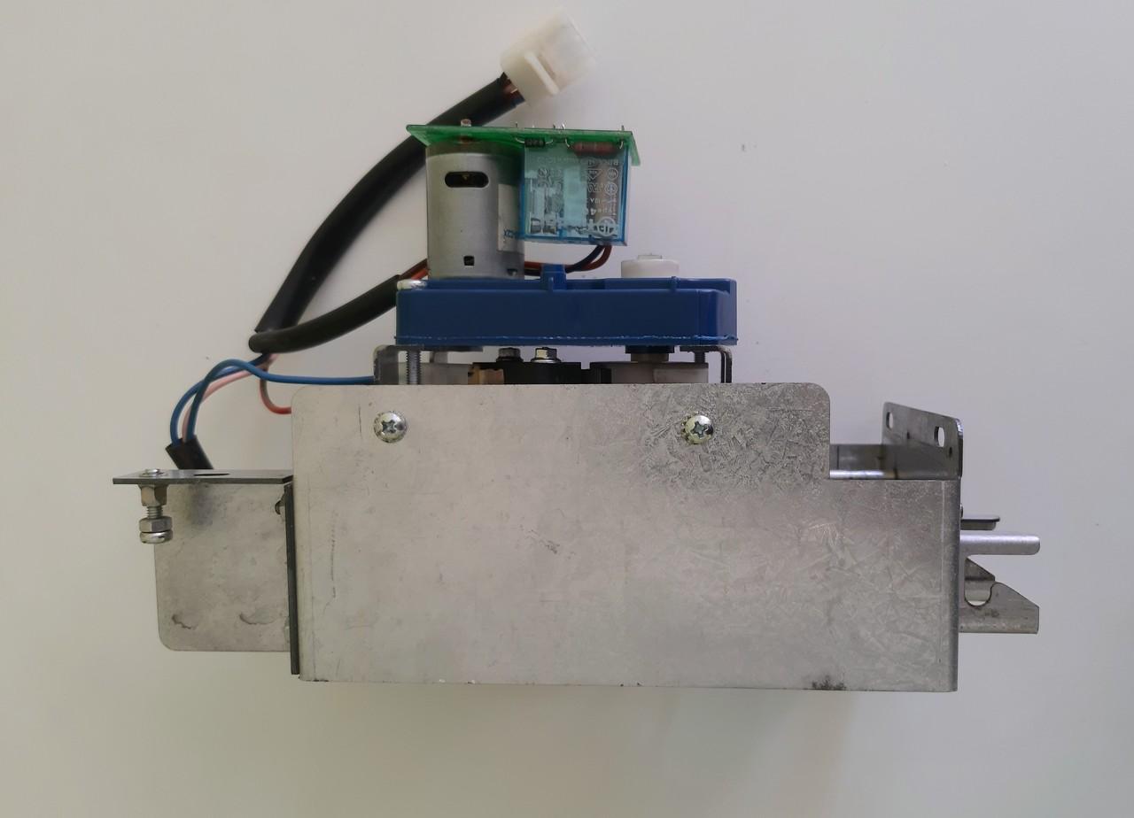 Механизм выдвижения трубок в сборе. С микриком, моторедуктором, проводами, б/у