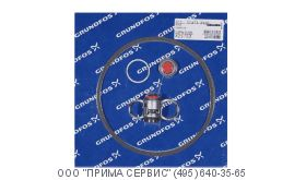 Grundfos Kit, Shaft seal CR(N)8/16 BQQE артикул: 00425763