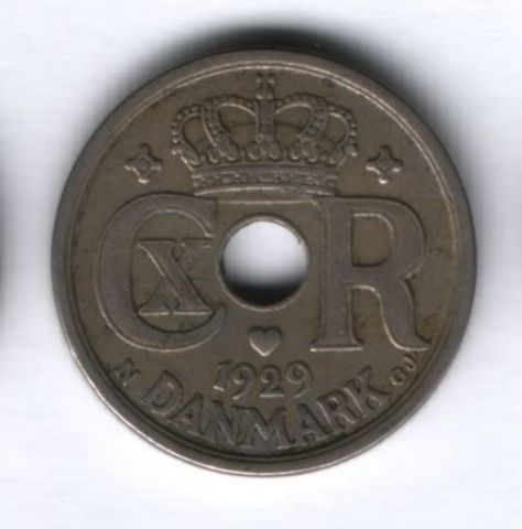 25 эре 1929 года Дания