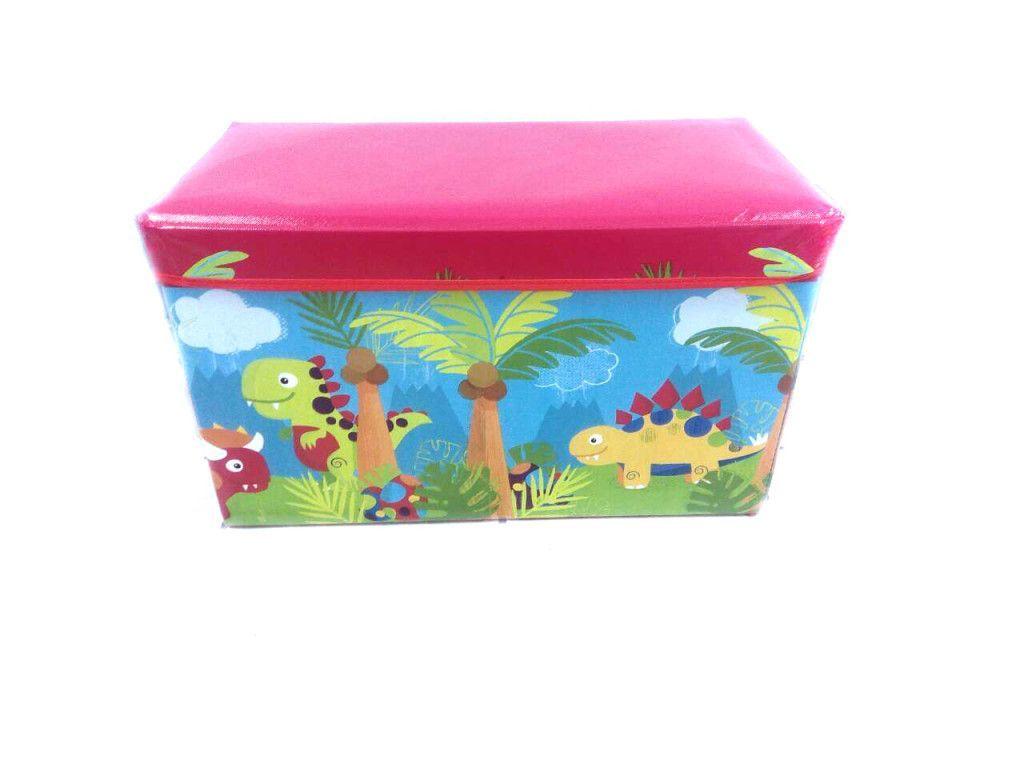 Короб-пуф для хранения игрушек, 60х31х35 см