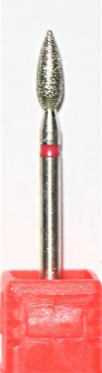 Бор алмазный, фреза мягкая красная (1971)