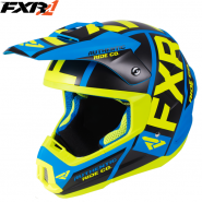 Шлем FXR Torque X Evo Blue/Hi-Vis, с подогревом