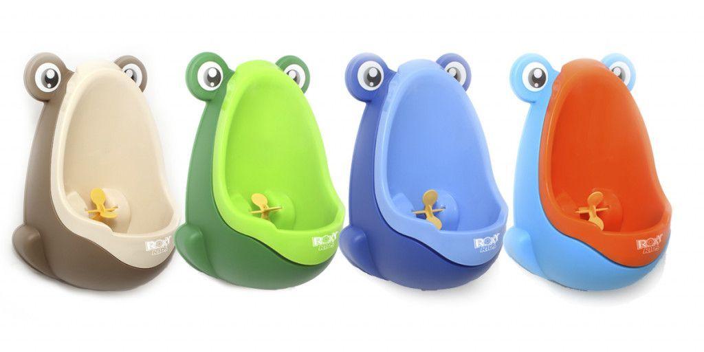 Писсуар для мальчиков с прицелом Лягушка
