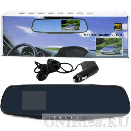 Самое дешевое зеркало авторегистратор Vehicle Blackbox DVR Full HD