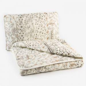"Набор ""Экофайбер"", одеяло размер 110х140 см, 150гр/м2 + подушка 40х60 см   4313331"