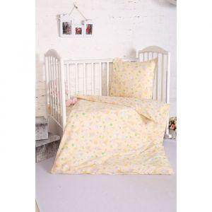 Постельное бельё BABY «Мороженки», цвет персик 112х147 см,  110х150 см,  60х60 см,  бязь