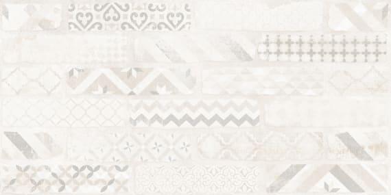 6660-0042 Керамогранит декор Брикстори 30х60 белый