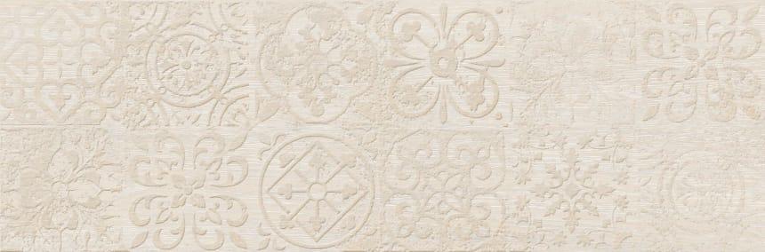 3606-0020 Керамогранит декор Венский Лес 20х60 белый