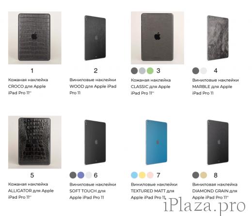 """Наклейка для iPad Pro 11"""" (2018)"""