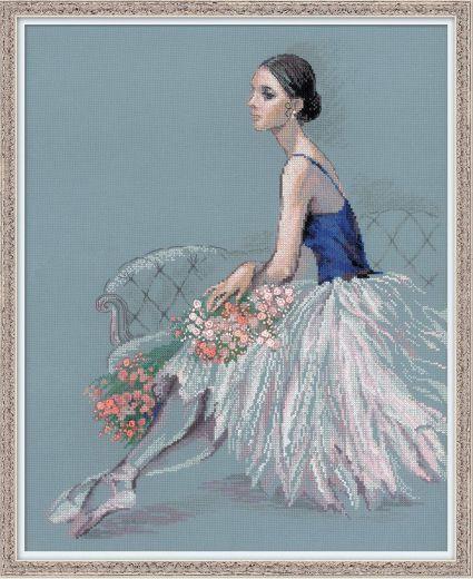 Набор для вышивания Riolis Premium Балерина 100/054 фирма Риолис