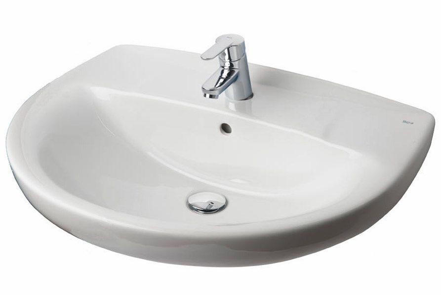 Раковина для ванной комнаты Roca Victoria 7.3273.9.300.Y 56x46 см ФОТО