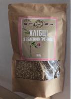 Сыроедческие сухарики «Живая Кухня»  с Зеленой гречкой (100 грамм)