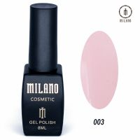 Гель-лак Milano Cosmetic №003, 8 мл