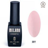 Гель-лак Milano Cosmetic №001, 8 мл