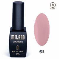 Гель-лак Milano Cosmetic №002, 8 мл