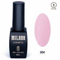 Гель-лак Milano Cosmetic №004, 8 мл