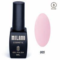 Гель-лак Milano Cosmetic №005, 8 мл