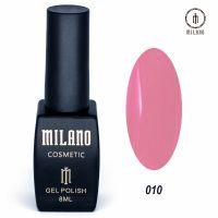 Гель-лак Milano Cosmetic №010, 8 мл