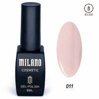 Гель-лак Milano Cosmetic №011, 8 мл