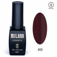 Гель-лак Milano Cosmetic №013, 8 мл