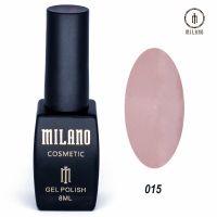 Гель-лак Milano Cosmetic №015, 8 мл