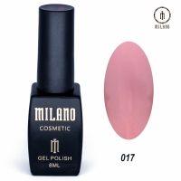 Гель-лак Milano Cosmetic №017, 8 мл