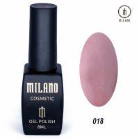 Гель-лак Milano Cosmetic №018, 8 мл