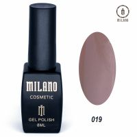 Гель-лак Milano Cosmetic №019, 8 мл