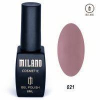 Гель-лак Milano Cosmetic №021, 8 мл
