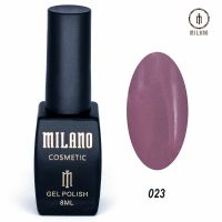 Гель-лак Milano Cosmetic №023, 8 мл