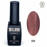 Гель-лак Milano Cosmetic №024, 8 мл