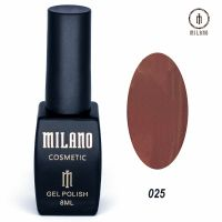 Гель-лак Milano Cosmetic №025, 8 мл