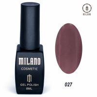 Гель-лак Milano Cosmetic №027, 8 мл