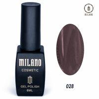 Гель-лак Milano Cosmetic №028, 8 мл